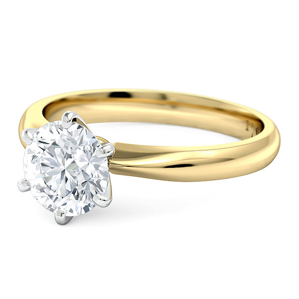 Gold Work Engagement Ring