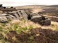 Dicken Rocks, above Gorple Upper Reservoir - geograph.org.uk - 269711.jpg