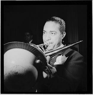 Dicky Wells American jazz trombonist