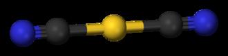 Hydrometallurgy - Image: Dicyanoaurate(I) 3D balls