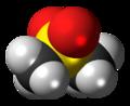 Dimethyl sulfone molecule spacefill.png