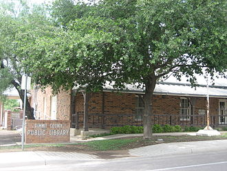 Dimmit County, Texas - The Dimmit County Library in Carrizo Springs