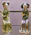 Dinastia tang, shanxi-henan, dame sedute su sgabelli, 685-715 ca..JPG