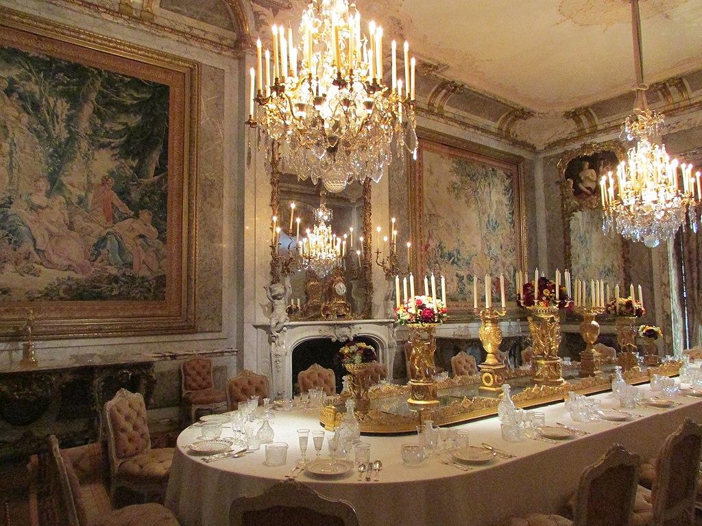 File Dining Room Waddesdon Manor Waddesdon