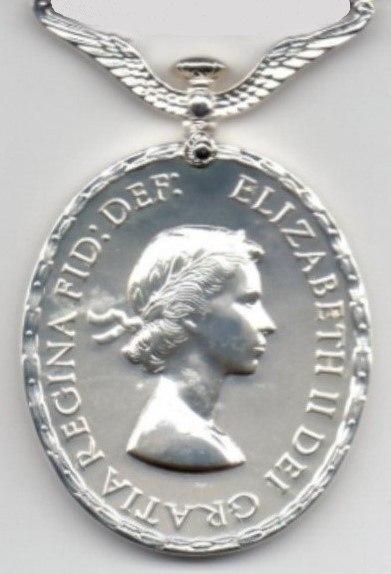 Distinguished Flying Medal. Elizabeth II obverse