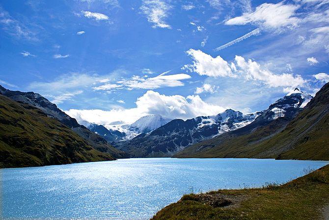 English: Lac des Dix (Grande Dixence), Valais....