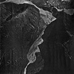 Dixon River, glacial remnents and outwash, September 12, 1973 (GLACIERS 5420).jpg
