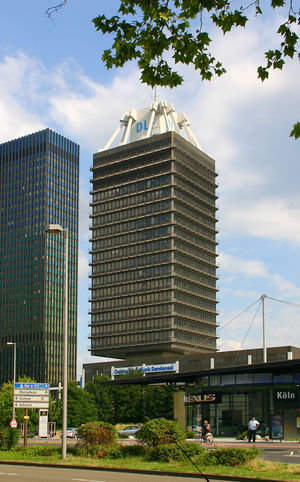 Deutschlandradio - Deutschlandradio headquarters in Cologne