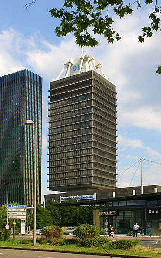 Deutschlandfunk - Deutschlandfunk headquarters in Cologne, Germany