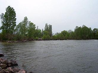 Verkhnodniprovsk - Image: Dnipr