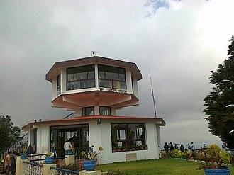 Doddabetta - Telescope House at the summit of Doda Betta