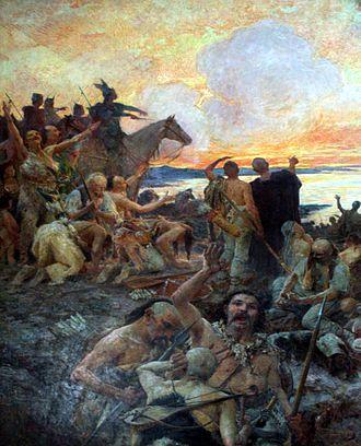 Mato Celestin Medović - Image: Dolazak Hrvata Celestin Medović