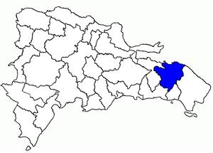 El Seibo Province - Image: Dom Rep El Seibo