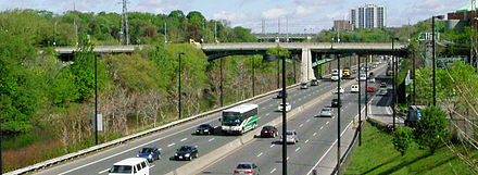 Gerrard Street over DVP Don River Gerrard Street bridge.jpg