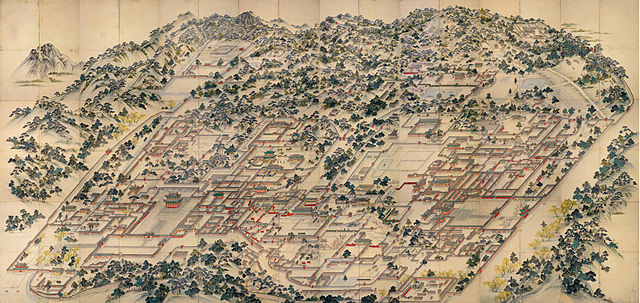 Donggwoldo, the landscape painting of Changdeokgung Donggwol-do.jpg