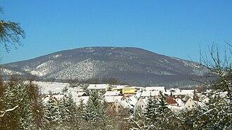 Donnersberg - The Donnersberg seen from Steinbach