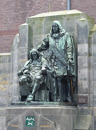 Johan de Witt - Image: Dordrecht standbeeld gebroeders de Witt 04