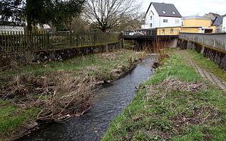 Dorndorfer Bach river in Germany