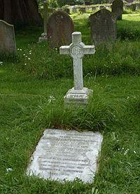 Douglas Evill grave Cuckfield 2014.jpg