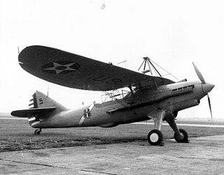 Douglas O-43 US military observation aircraft introduced 1930
