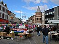 Dovecot Street from the marketplace - geograph.org.uk - 493563.jpg
