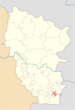Dovzhansk location.png