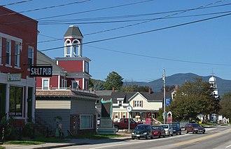 Gorham, New Hampshire - Image: Downtown Gorham 5