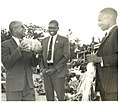 Dr Banda, with Gwanda Chakuamba and Aleke Banda admiring crop.jpg