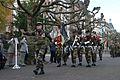Drapeau du 13e RG au 72e anniversaire de la libération de Strasbourg.jpg