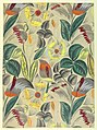Drawing, Textile Design- Tropical Flowers, 1912–13 (CH 18805389-3).jpg