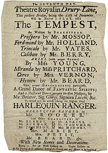 the use of contrasts in act one of the tempest a play by william shakespeare The tempest and the other plays in the collection were printed on large sheets of   as one of his first acts on the island, prospero freed the spirit ariel from twelve   antithesis: use of contrasting words, phrases, or ideas in a sentence with a.