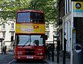 Dualway bus (99-D-494) in Dublin, Belfast City Tour, ex-Dublin Bus RV494, 13 June 2011.jpg
