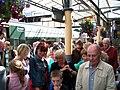 Dublin-bound train passengers disembarking at Drogheda - geograph.org.uk - 1455673.jpg