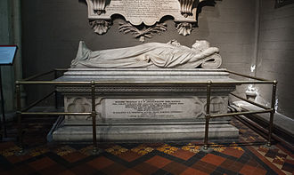 Richard Whately - Image: Dublin St. Patrick's Cathedral South Transept West Aisle Monument Dedicated to Archbishop Richard Whately II 2012 09 26