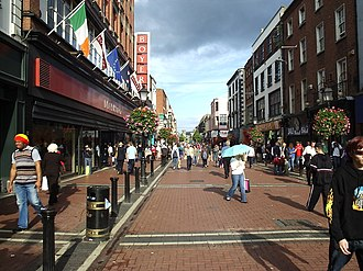 Dublin and Monaghan bombings - A 2006 view of Talbot Street where a further 14 people died