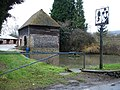 Duck pond and Village sign, Trottiscliffe - geograph.org.uk - 111465.jpg