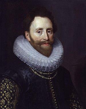 Dudley Carleton, 1st Viscount Dorchester - Portrait of Dudley Carleton by Michiel Jansz van Mierevelt, circa 1620