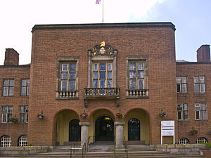 Metropolitan Borough of Dudley - Dudley Council House in Dudley, West Midlands