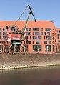 Duisburg, havenkraan1 in de Innenhafen IMG 6220 2019-02-24 11.58.jpg