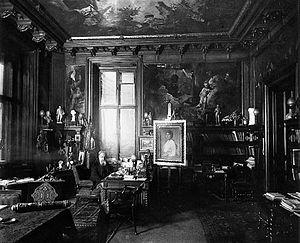 Nikolaus Dumba - Dumba in his office at the Palais Dumba
