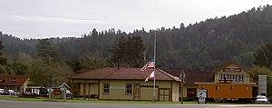 Duncans Mills, California - Duncans Mills museum