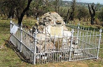 Penn Symons - Dundee Talana Museum Memorial cairn to Gen Sir William Penn Symons