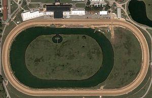 DuQuoin State Fairgrounds Racetrack - Image: Duquoinsat