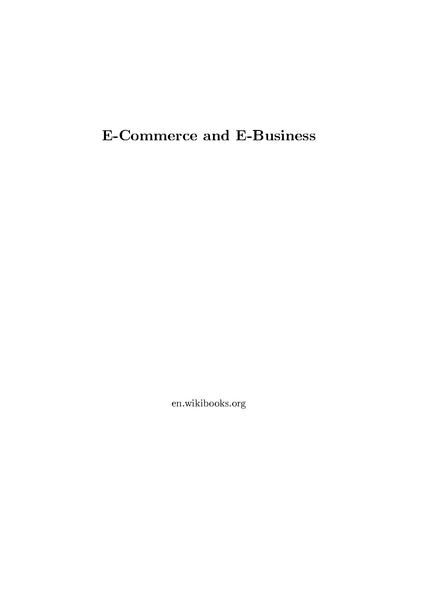 File:E-Commerce and E-Business.pdf