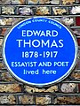 EDWARD THOMAS 1878-1917 ESSAYIST AND POET lived here.jpg