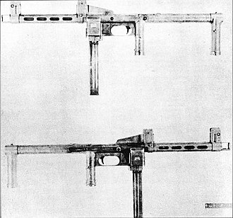 Erma Werke - ERMA MP 44, prototype SMG