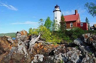 Eagle Harbor, Michigan - The Eagle Harbor Light within Eagle Harbor