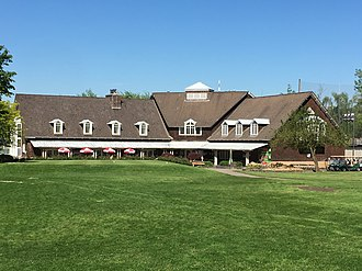 Eastmoreland Golf Course - The Eastmoreland Golf Clubhouse in 2017