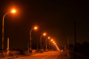 Aroor - Aroor-Edakochi bridge, a night view