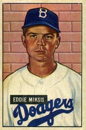 Eddie Miksis - Image: Eddie Miksis
